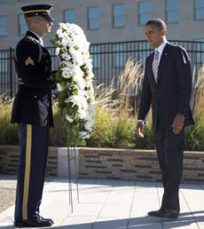 Obama visits wounded troops