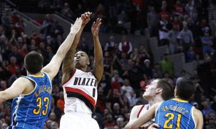 Lillard's last-second three lifts Blazers over Hornets
