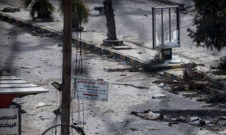 Syrian military attacks near Damascus kill 45