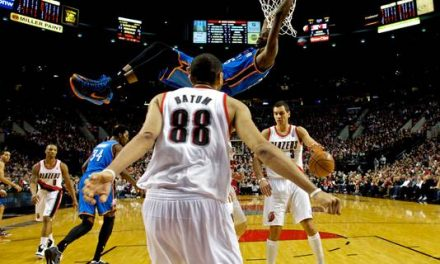 Kevin Durant, banged-up Thunder end Blazers' home streak
