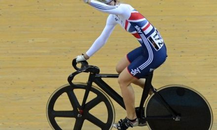 James win women's sprint title at track worlds