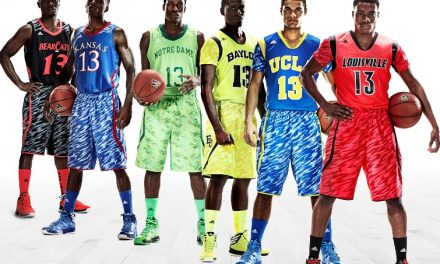 Adidas unveils preposterous sleeved college hoops uniforms