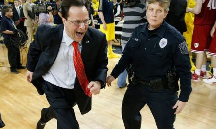 Indiana coach Tom Crean berates Michigan assistant after emotional victory