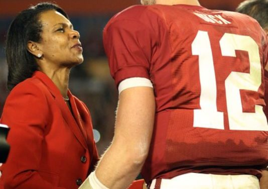 'A student of the game,' Condi Rice ignores doubters