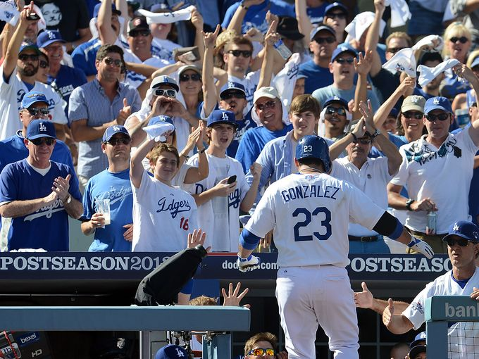Dodgers blast four HRs, force Game 6 in St. Louis