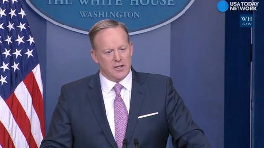 Spokesman Sean Spicer says media too negative about Trump and his 'movement'