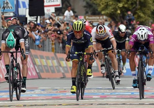 Australia's Ewan wins 7th stage of Giro; Jungels keeps lead