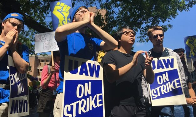 Hundreds of UW Student Employees Walk Off the Job to Demand Pay Increases, Better Healthcare