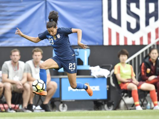 Ahead of next Women's World Cup, Americans hit their stride as key forward makes move   Seattle Metro Magazine