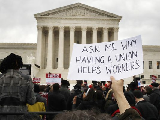 Supreme Court labor unions